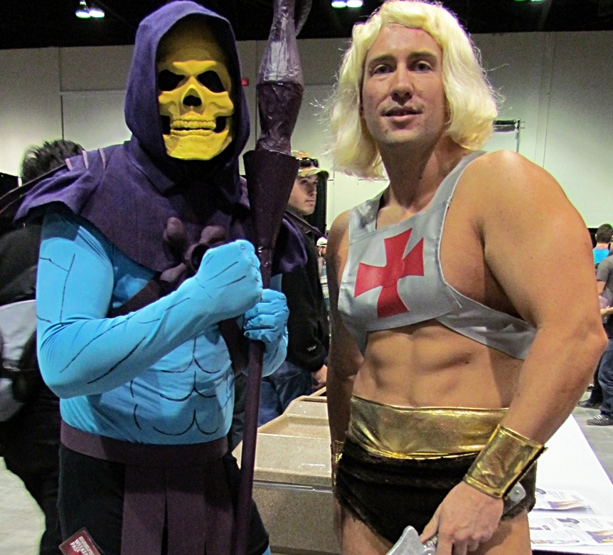 Skeletor and He-Man von 5of7 [CC-BY-SA-2.0], via Wikimedia Commons